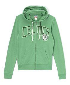 This Boston Celtics Zip-Up Hoodie - Men is perfect! #zulilyfinds