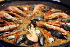 The perfect paella at cook and taste cooking school #Barcelona