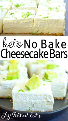 You are going to love this insanely easy & delicious sugar-free Keto No-Bake Cheesecake. It's rich, creamy, & has a vibrant flavor that you can't forget! Köstliche Desserts, Sugar Free Desserts, Low Carb Desserts, Low Carb Recipes, Delicious Desserts, Dessert Recipes, Icing Recipes, Beef Recipes, Cake Recipes
