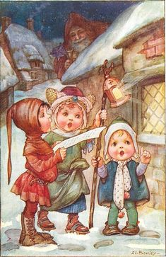 Vintage christmas - A.L.Bowley