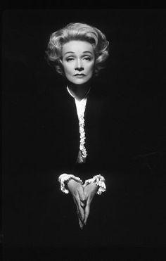 Marlene Dietrich - I'm worth more dead than alive. Don't cry for me after I'm gone; cry for me now. Marlene Dietrich