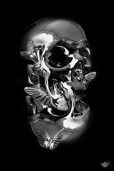 skull by Obery Nicolas