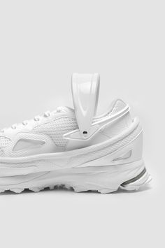 super popular 023d4 5b698 ADIDAS X RAF SIMONS Response Trail 2 All White Sneakers