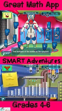 The Elementary Math Maniac: S.M.A.R.T Adventures Mission Math App