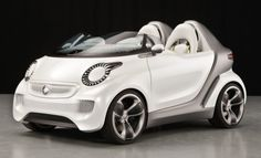 Smart 'Forspeed' (2011 concept) #cars #design #new