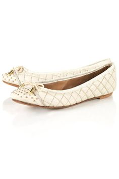 b2847073 KASHMIR Quilted Ballet Pumps Oh My Love, Fashion Forward, Strappy Sandals,  Girly,