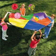 Parachute! Use to love this day in gym class
