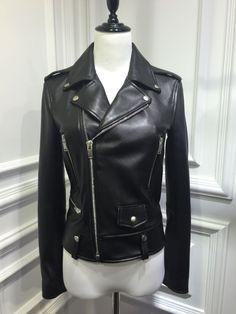 Leather Women Moto Jacket