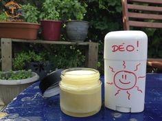 Deo DIY Sommerversion - Die Trapper Source by tanialandrevill Green Life, Diy Skin Care, Diy Makeup, Body Butter, Diy Beauty, Glass Of Milk, Bath And Body, Diy And Crafts, Homemade