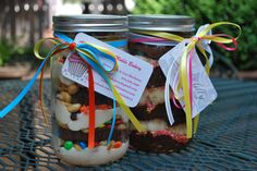 Mason Jar Food Wedding Ideas. Cupcake Jar