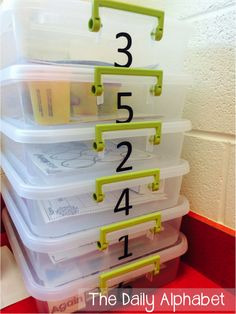 Tips for Organizing Math Centers
