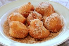 Brazilian Beignets (Bolinho de Chuva ) ~ The Untamed Cook