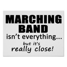 Marching Band Really Close Posters