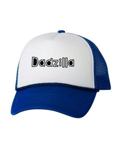 3248cbac24538 Dadzilla Hat Father s Day Trucker Hats Father Gifts Hat Accessories for Men  Funny Dadzilla Hat Fathe