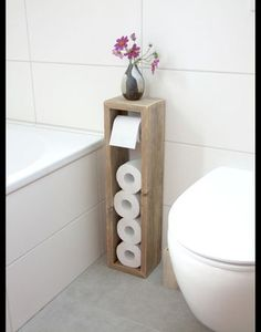Toilettenpapierhalter, Klopapierhalter – Klopapierhalter – Badezimmer – Mit Lieb… Toilet Paper Holder, Toilet Paper Holder – Toilet Paper Holder – Bathroom – Handmade with Love in Hatten, Germany by Klaus Heilmann Toilet Paper Stand, Diy Toilet Paper Holder, Toilet Brush, Toilet Roll Holder Wood, Toilet Paper Dispenser, Diy Casa, Diy Home Decor On A Budget, Diy Ideas For Home, Diy Home Décor