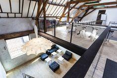 Katoenloft in Eskimofabriek Gent