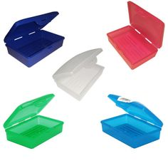 Travel-Soap-Dish-Box-Case-Holder-Container-Wash-Shower-Bathroom-Made-in-USA