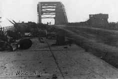 Operation Market - Garden, the Bridge at Arnhem after the battle.