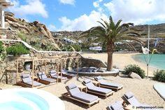 Jackie O Beach Mykonos by Petite Passport