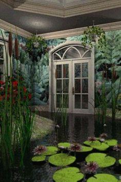 Fantasy Garden Pictures Live Wallpaper