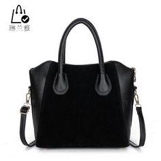$8.50 (Buy here: https://alitems.com/g/1e8d114494ebda23ff8b16525dc3e8/?i=5&ulp=https%3A%2F%2Fwww.aliexpress.com%2Fitem%2FHOT-Fashion-bags-2015-women-s-nubuck-leather-patchwork-handbag-smiley-bag-women-shoulder-bag-women%2F32397180977.html ) LINLANYA HOT! Fashion bags 2016 women's nubuck leather patchwork handbag smiley bag women shoulder bag women's bags HJPHOEBAG for just $8.50