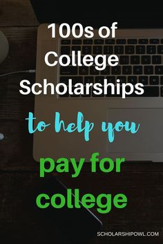 Find 100s of college scholarships to help you pay for college   scholarshipowl.com Grants For College, Financial Aid For College, College Fund, College Planning, Online College, Education College, College Tips, College Loans, College Ready