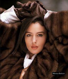 Monica Bellucci in a mink coat for Annabella Furs by samurman, via Flickr