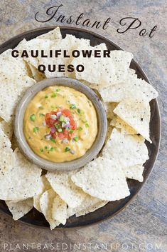 Kathy's Famous Spicy Instant Pot Cauliflower Queso
