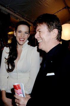 David with actress Liv Tyler