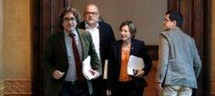 El Tribunal Constitucional notifica en mà a Forcadell lanullació de les conclusions del procés constituent