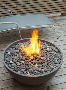 Paloform Miso Modern Round Outdoor Fire Pit