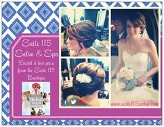 @Jenn L Sorrentino @Jennifer Sorrentino #suite115salon #suite115bridal #bridalhairstyle #suite115salonbridalhairpieces