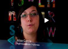 Depuis 2009, Alice Garcia travaille comme ingénieure jeune diplômée au sein de de l'équipe MAGNOME à l'institut Bordeaux - Sud-Ouest. Dirigée par David Sherman, cette équipe pluridisciplinaire travaille avec des experts internationaux et se consacre aux approches bioinformatiques pour la génomique. Alice Garcia nous expose son expérience au sein de ce projet.