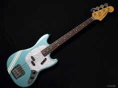 Fender Japan Bass Mustang Bass MB SD Co Ocean Turquoise Metallic 717669166175 | eBay