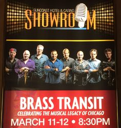 CHICAGO TRIBUTE...BRASS TRANSIT @ SUNCOAST