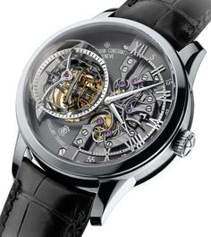 Vacheron Constantin Maître Cabinotier Retrograde Armillary Tourbillon Watch – check out this latest high-complication piece from Vacheron Constantin, designed to follow in the footsteps of the most complicated pocket watch, the 57260 – check out all images and a full explanation now by David Bredan on aBlogtoWatch