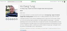 Vo's Video SEO Ranking Secrets - The Secrets To Google Ranking | Vo Dang Tung