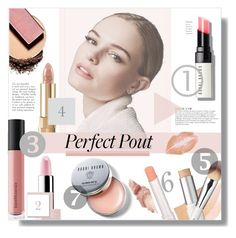 """""""#41"""" by idonthavebrains ❤ liked on Polyvore featuring beauty, W3LL People, Dolce&Gabbana, Bobbi Brown Cosmetics, Bare Escentuals, Sephora Collection, KAROLINA, Maybelline and springlips"""