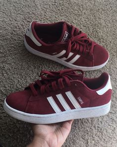 Adidas Campus (Burgundy/Red Wine) for Sale in Los Angeles, CA Moda Sneakers, Cute Sneakers, Cute Shoes, Adidas Sneakers, Adidas Campus Shoes, Sneaker Boots, Adidas Fashion, Sneakers Fashion, Burgundy Tennis Shoes