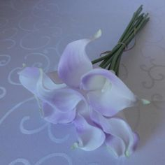 Lily Garden Mini 15 Artificial Calla Lily 10 Stem Flower Bouquets Light Purple * This is an Amazon Affiliate link. Read more at the image link.