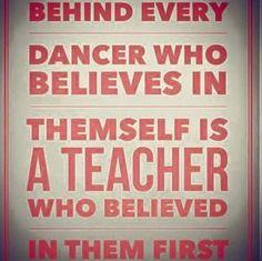 Dance teacher create new dancers More