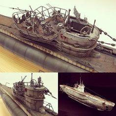 Type VIIC/41 U-boat U995 1/72 Revell. Modeler FoxbaT73 #scalemodel #plastimodelismo #miniatura #miniature #maqueta #revell #hobby #plasticmodel #usinadoskits #udk