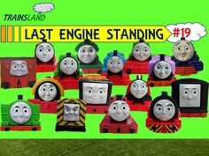 Last Engine Standing #19 - Thomas and Friends Trackmaster Demolition Derby- Trainsland