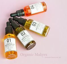 Four facial oil recipes for all different skin types