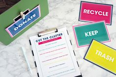 Purging clutter?  Get this kit to help you out! #springcleaningbundle #purgingclutter
