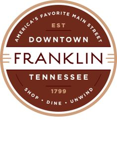 Downtown Franklin Tennessee logo
