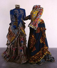 """""""A picture of a pipe isn't necessarily a pipe, an image of """"African fabric"""" isn't necessarily authentically [and wholly] African"""": Yinka Shonibare's Sculptures"""