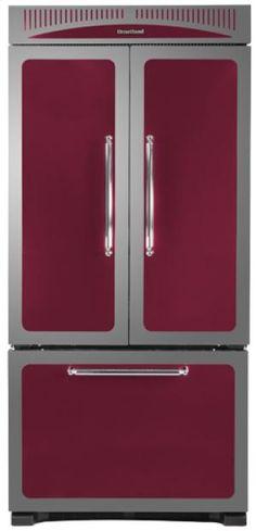 "HCFDR20CRANBERRY by Heartland in Arkansas, Kansas, Missouri, & Oklahoma - Cranberry 36"" Classic French Door Refrigerator - Model HCFDR20"