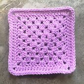 The Plain Granny Square is to be used for the Vibrant Vintage CAL - Make 24 Solid and 8 Multi-color squares total (1 per week for 32 weeks)