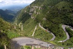 As infinitas curvas da Serra do Rio do Rastro